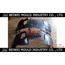 Customized Injection Plastic Automotive Fender Lining Mould
