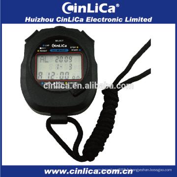 HS-030 100 tours chronomètre à mémoire bon marché avec alarme