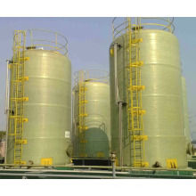 FRP GRP Fiberglass chemical tank reactor chemicals container