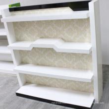 Exposition affichage tablette en bois Rack Boutique gondole Rack supermarché présentoir (BDS-016)