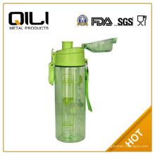 Botellas de plástico transparentes libres BPA
