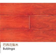High-End Brazail Bubinga Engineered Hardwood Pisos de madera laminada