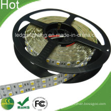 High Lumen 2 Lines 126 LED Stripe 5050 24V LED Double Row LED Strip