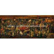 Klassisches Wand-Dekor-Jesus-Segeltuch-Ölgemälde