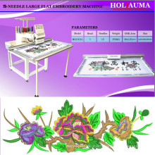 HOLiAUMA New Large Embroidery Area 360*1200mm Single Head Computerized Embroidery Machine