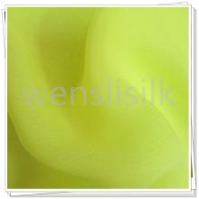 Tela de seda pura 100%, tingimento de tecido de seda tecido Georgette