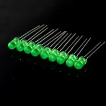 Lente difusa verde de 5 mm LED Epistar Chips