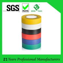 Fita isolante da isolação do PVC da largura do comprimento 19mm de 10 M