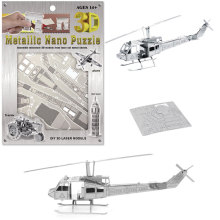 DIY Blocks Helicopter 3D Puzzle Toy