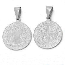 Wholesale Stainless Steel Custom Coin Religious Metals Charms Pendant