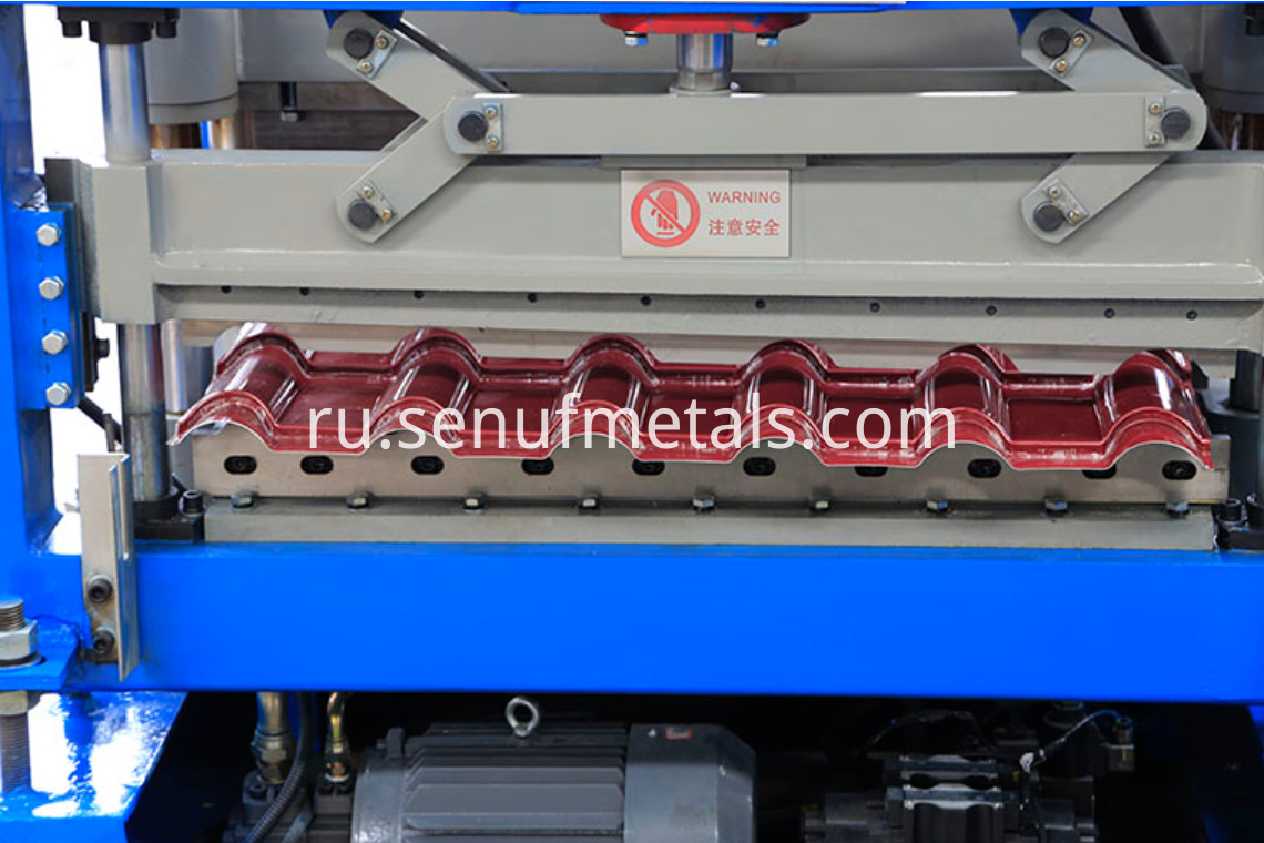 glazed tile forming machine (9)