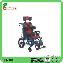 Cadeira de rodas para crianças de luxo de alta qualidade
