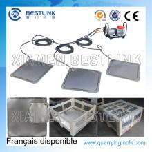 Pneumatische Pump-Stahl-Hydropush-Wasser-Anlage für das Schieben des Marmorblocks