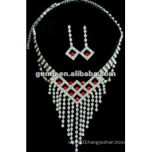 Latest bridal wedding jewelry set (GWJ12-477)