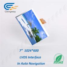 """Pantalla LCD de 7 """"1024 * 600 con luz solar"""