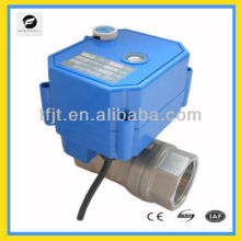 """1"""" 110VAC reduce port motorized valve with manual override function to reuse of rainwater and reuse of grey water system"""