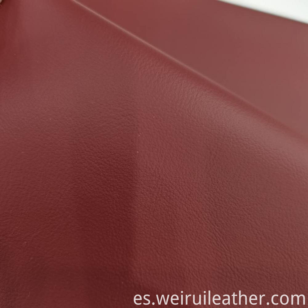 Comfortable Feeling Pvc Leather
