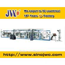 Full servo disposable breast pad making machine(Double Routes Output)