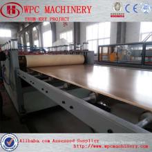 PVC WPC skinning foam board machine pvc free foam board extruder machine