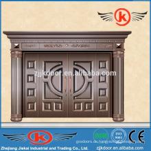 JK-C9013 Villa Haupttor Design Dekoration Nachahmung Sicherheit Kupfer Tür