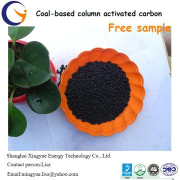 wettbewerbsfähige 1,5mm Kohle-basierte Säule Aktivkohle Preis pro Tonne