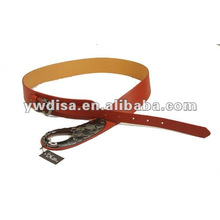 Women's PU Belt With PU, Alloy Accessories With Gun-Metal Plated
