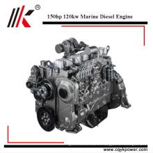 Motor del barco de pesca del precio del motor diesel de la lancha a motor de la eficacia alta 150hp