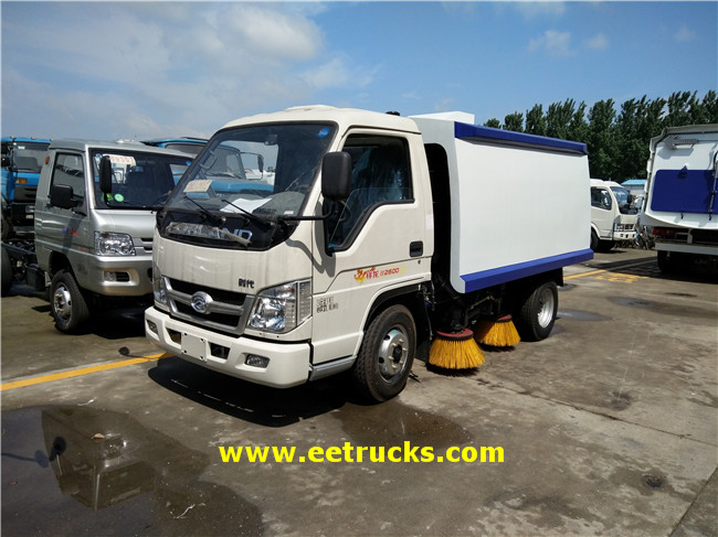 Foton Mini Street Sweeping Trucks