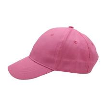 Children's plain baseball cap cotton 6 panel baseball cap custom logo hat