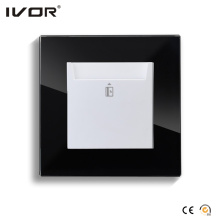 Energy Saver Key Card Netzschalter Hr-Es1000-Gl-B Glasrahmen
