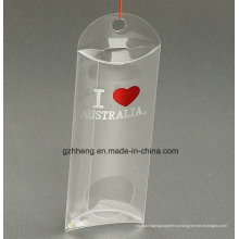 Подгонянная эмблема маленькая пластмассовая складная коробка в форме подушки