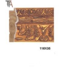 High Copy Marmoration Molding Holz Vorhang Rahmen