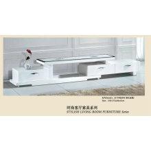 White Modern Design Tempered Glass Table for Living Room (2017)