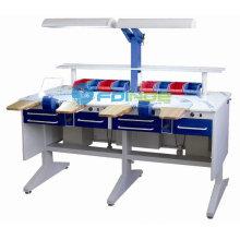 Banc de travail dentaire pour meubles dentaires (Nom du modèle: LT-2) - Dispositifs dentaires -