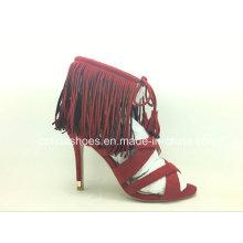 Mais recentes sapatos femininos de tamanho grande para senhora de moda