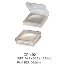 Plastic square compact container