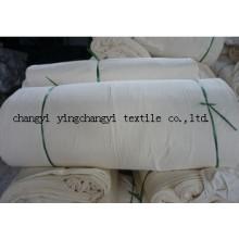 Usine prix 65 % Polyester 35 % coton tissu gris