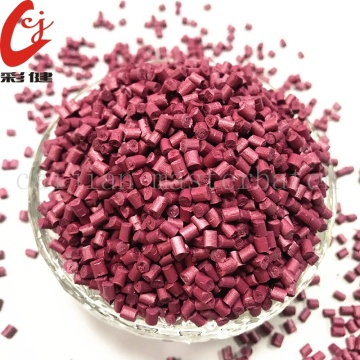 Pink Free Painting Color Masterbatch Granules