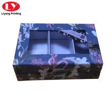 Жесткая картонная картонная коробка с оконной коробкой