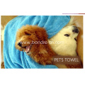 Pets Towels After Bath Towel With Mitt Removable