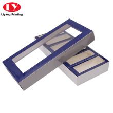 Caja de regalo personalizada con empaque de ventana transparente