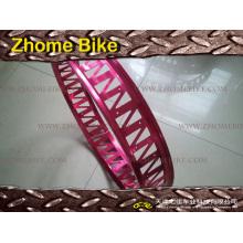 Escondido de bicicleta peças/bicicleta borda/liga aro duplo/parede/complexo em forma de Rim Rim/gordura