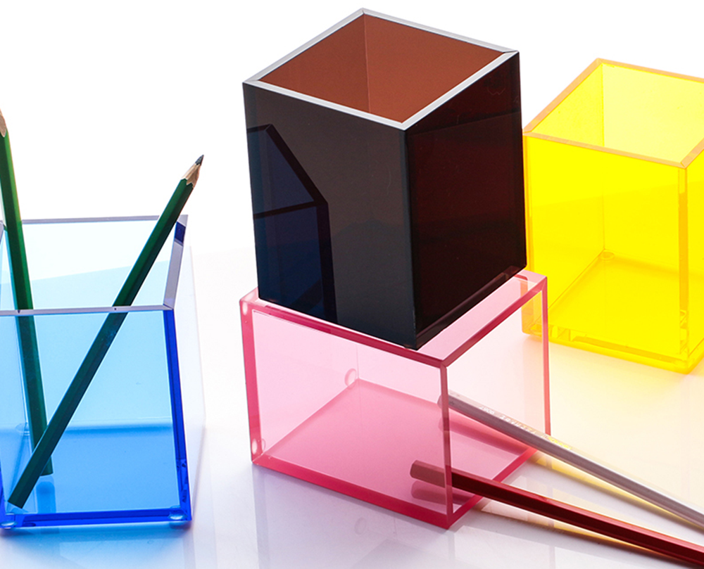 Acrylic Colorful Pen Holder