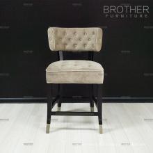 Coussin de chaise haute de tissu de meubles modernes de coussin avec le bas arrière