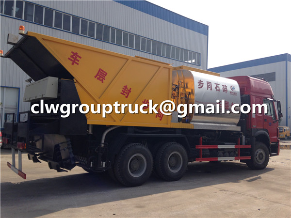 Bitumen Spraying Truck