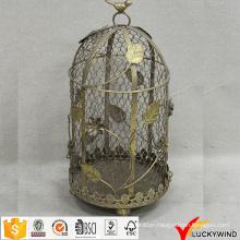 Vintage Metal Wire Floral Wholesale Decorative Bird Cages Wedding