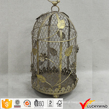 Vintage Metal Wire Floral Atacado Decorative Bird Cages Casamento
