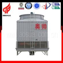 Système de tour de refroidissement à eau carrée 200m3 / h Tour de refroidissement à circuit ouvert FRP avec fabrication de tour de refroidissement à contre-courant