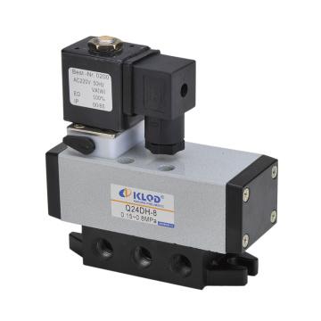 Ningbo Kailing single electric control sliding column type pneumatic directional valve Q24DH 8