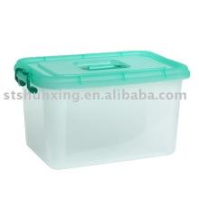 Online-Shopping Großhandel 22L Kunststoff Aufbewahrungsbox mit Deckel von Guangdong